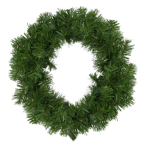 18 Deluxe Windsor Pine Artificial Christmas Wreath - Unlit.