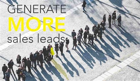 18 Ways To Generate More B2b Sales Leads Leadfeeder.