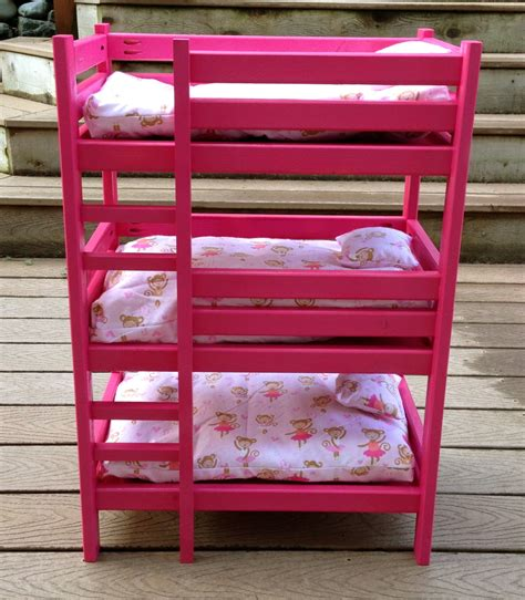 18 Doll Bunk Bed Plans for Free
