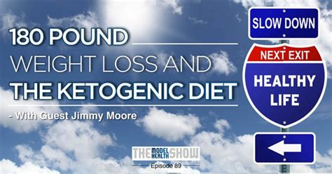 180 Pound Weight Loss And The Ketogenic Diet - With Jimmy Moore.
