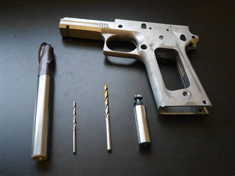 1911 80 Tactical Machining Build Part 2 Tools - Pew Pew .