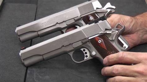 1911- Comparing 45acp Vs 9mm.