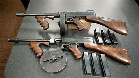 Tommy-Gun 1920s Tommy Gun.