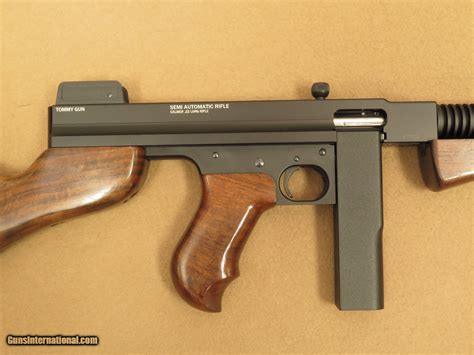 Gunkeyword 1922 Semi Automatic 22 Caliber Tommy Gun.