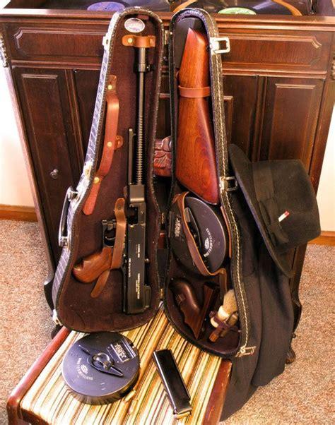 Gunkeyword 1928 Tommy Gun Inside A Violin Case.
