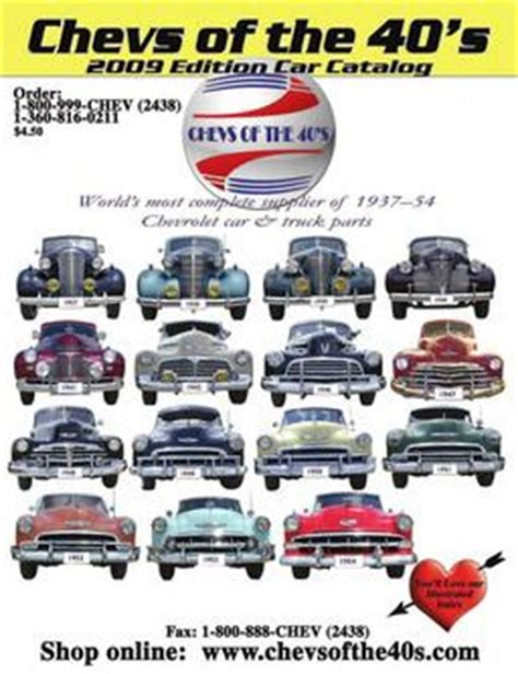 1939 Chevy Car Parts  Chevs Of The 40s.