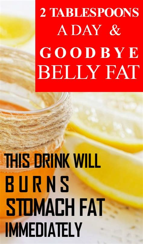 2 Tablespoons Daily And Bye-Bye Belly Fat. This Drink.