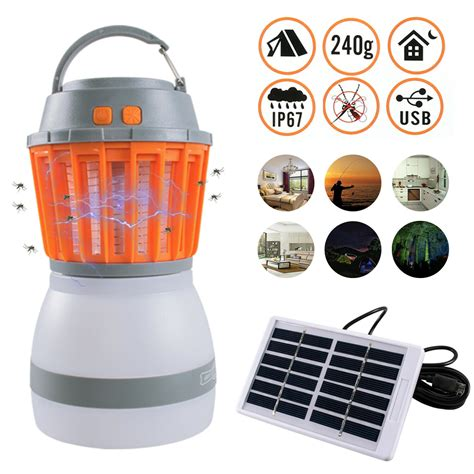 2 In 1 Ultraviolet Mosquito Killer Bug Zapper And Led Tent .