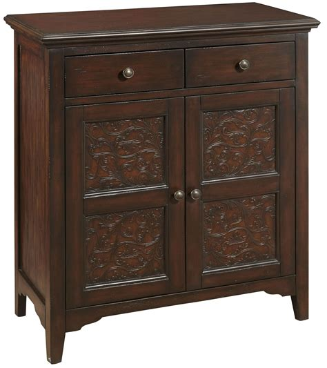 2 Drawer Accent Cabinet