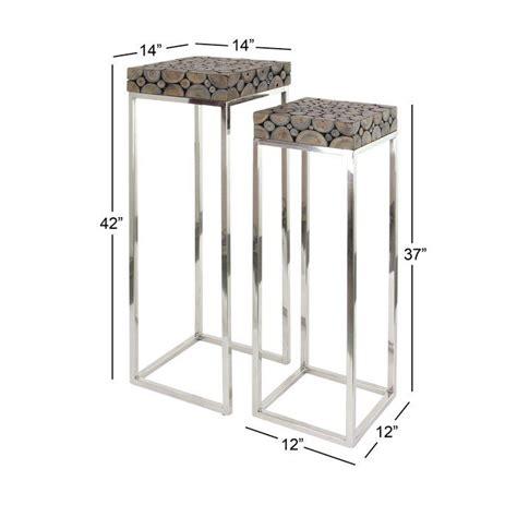 2 Piece Pedestal Telephone Table Set