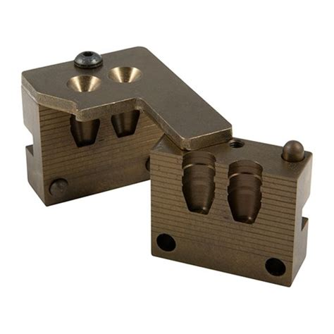 2-Cavity Handgun Moulds Saeco 2-Cavity Moulds  41 Cal .