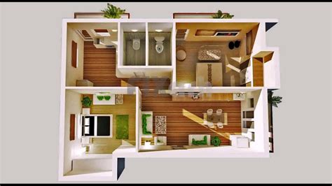 2 Bedroom Tiny House Plans Free