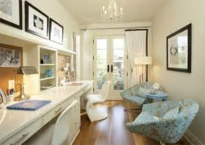 2 Desk Office Design
