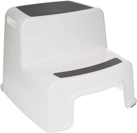 2 Tier Step Stool By Home Basics