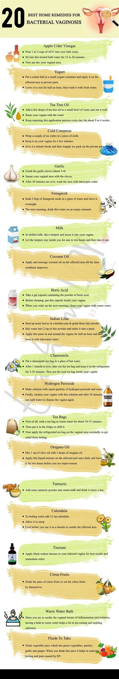 [click]20 Best Home Remedies For Bacterial Vaginosis.