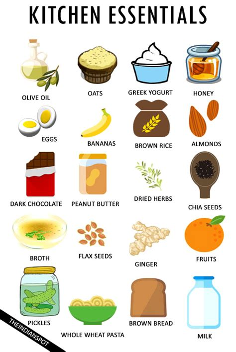 20 Foods You Should Always Have In Your Kitchen - Health.