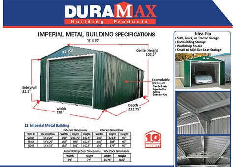 20 X 15 Shed