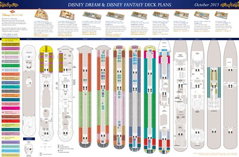 2015 Disney Fantasy Deck Plans