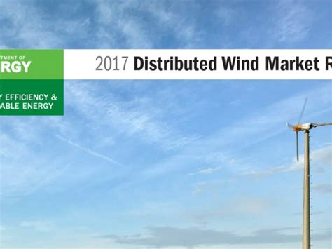 2017 Distributed Wind Market Report - Awea.