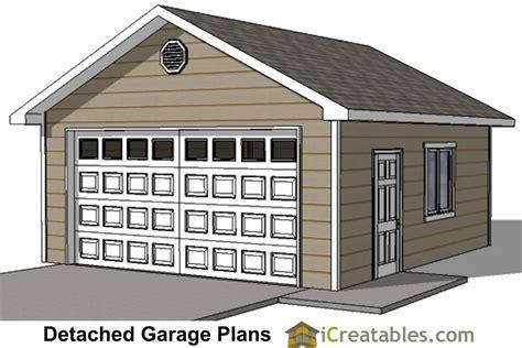 20x20 Garage Plans