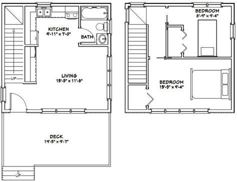 20x20 Home Plans DIY