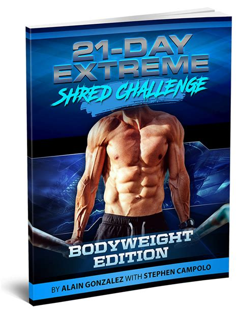 [pdf] 21 Day Extreme Shred Challenge.