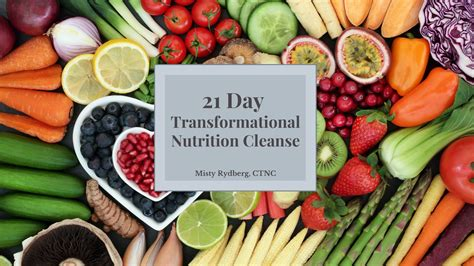 [click]21 Day Transformational Nutrition Cleanse A Complete .