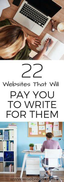 22 Websites That Will Pay You To Write For Them - Wise Bread.