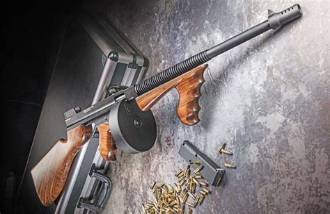Tommy-Gun 22 Cal Tommy Gun Style.