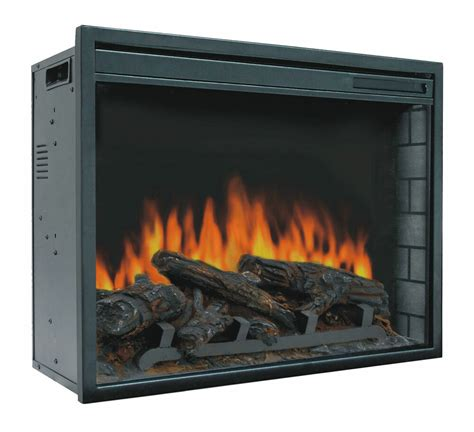 23 Electric Firebox Insert - With Fan Heater And Glowing .