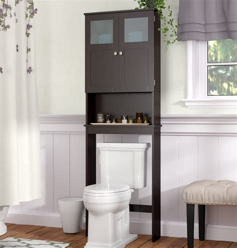 23.25 W x 66.5 H Over the Toilet Storage