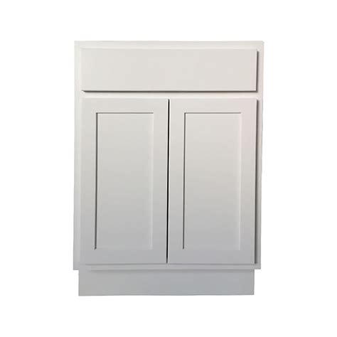 24 Base Kitchen Cabinet White Shaker