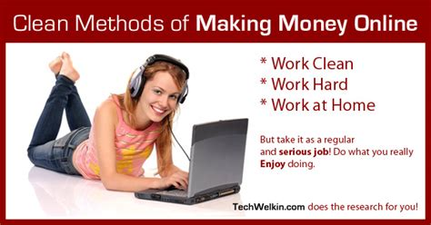 [click]24 Clean Methods To Make Money From Internet Using Various .