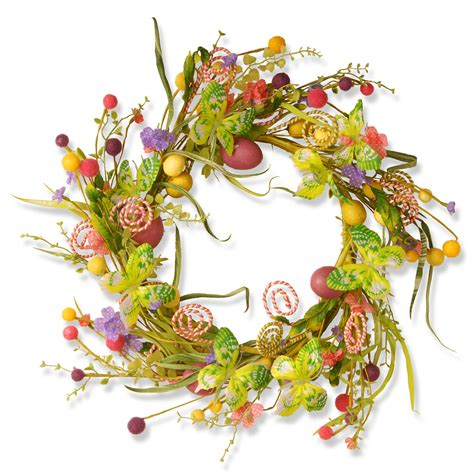 24 Garden Accents Easter Wreath - Apoquindominerals Com.
