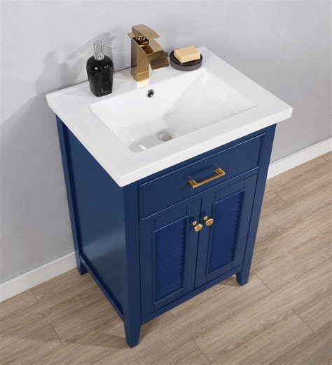 24 Transitional Single Sink Bathroom Vanity .