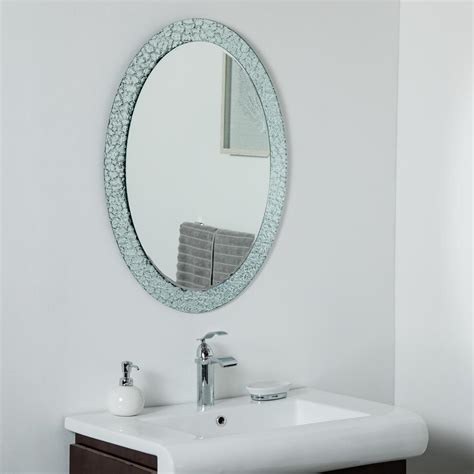 24 In X 32 In Oblong Frameless Mirror - The Home Depot.