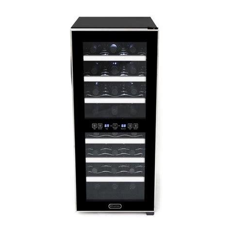 24 Bottle Dual Zone Freestanding Wine Cooler