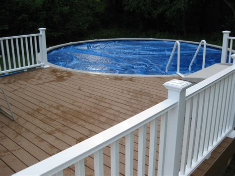 24 Above Ground Pool Deck Plans Free