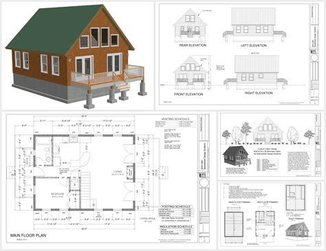 24 X 32 Cabin Plans