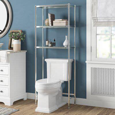 24.25 W x 63.5 H Over the Toilet Storage
