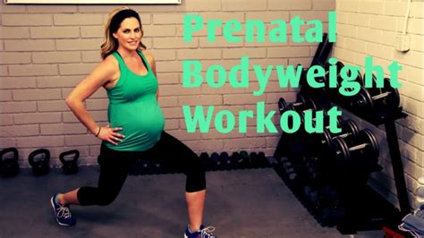 [click]25 Minute Prenatal Bodyweight Workout---No Equipment Workout For 1st 2nd And 3rd Trimesters.
