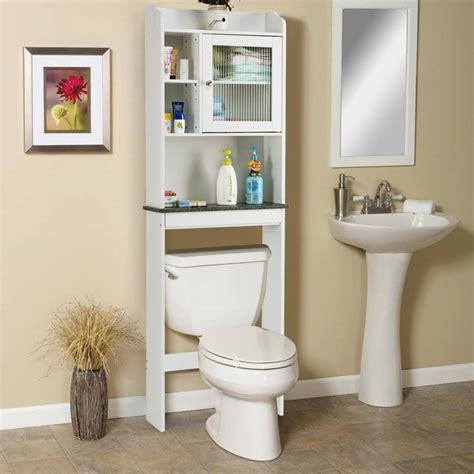25.5 W x 60.75 H Over the Toilet Storage