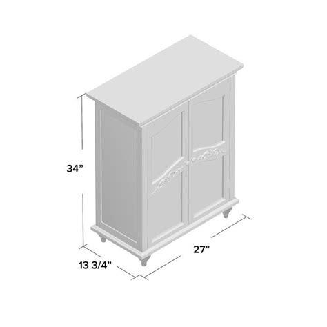 27 W x 34 H Cabinet