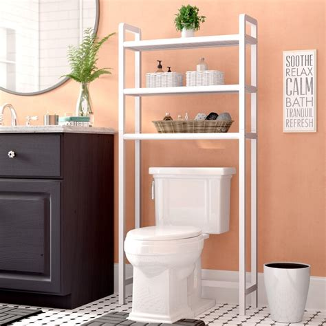 28 W x 60 H Over-The-Toilet Shelving