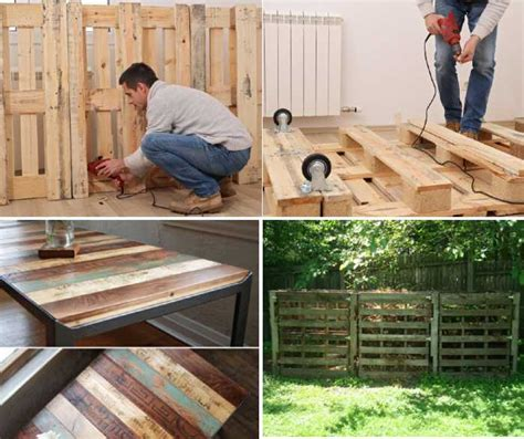 29 Recycled Pallet Projects