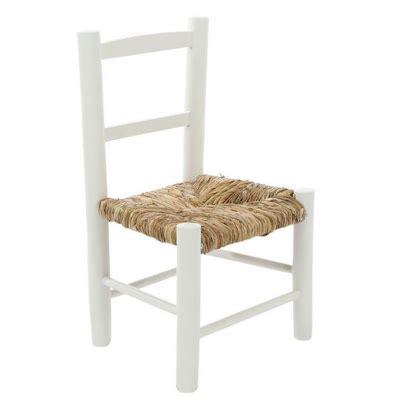 2tlg Kinderstuhl Lotta Weiß Aus Holz Mit Binsengeflecht Stuhl Landhaus Schweden
