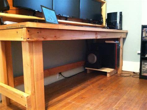 2x4 Desk Plans