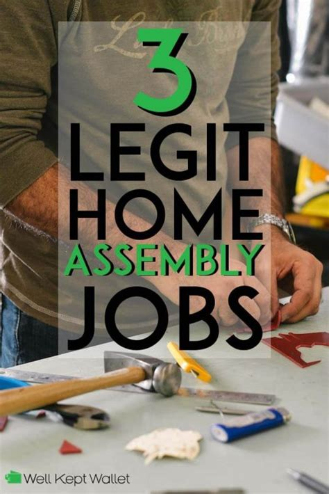 3 Legit Home Assembly Jobs That Wont Scam You - Well Kept Wallet.