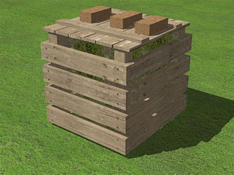 3 Ways To Build A Compost Bin - Wikihow.
