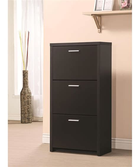 3 Drawer Shoe Accent Cabinet